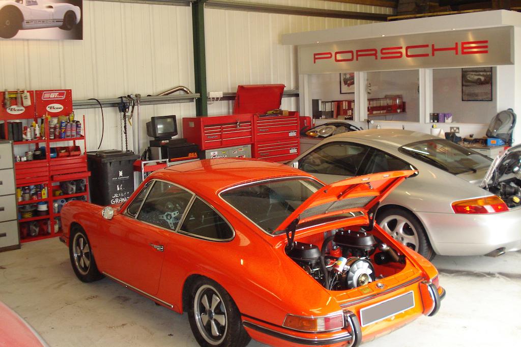 DSD Motorwerks classic Porsche 912 engine rebuild Essex 9